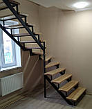 Каркас лестницы. Лестница из металла для дома, квартиры, дачи., фото 3