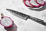 Нож кухонный Шеф Samura METEORA 209 мм, фото 7