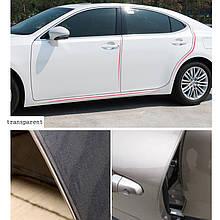 Универсальный протектор для защиты края дверей от сколов, прозрачный