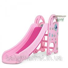 Дитяча гірка Bambi DLX-B-8 (pink)