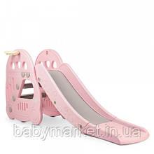 Детская горка Bambi L-HT30-8 (pink)