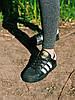 Скидка 35%  Кроссовки черные Adidas Superstar Black