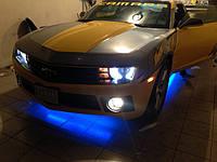 НАШИ РАБОТЫ: Установка RGB подсветки днища на Chevrolett Camaro