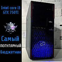 Игровой компьютер Intel Core i3-2120/3220 + GTX 950 + RAM 8Gb DDR3 + HDD 500Gb, фото 1