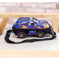 Детский рюкзак для мальчика от 2 лет для садика жесткий 3D Тачки автомобиль