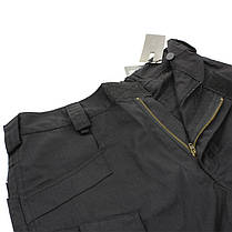 Тактические шорты Lesko IX-7 Black размер XL мужские повседневные армейские, фото 2