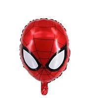 """Фольгированный шар """"Человек Паук"""" голова  49х33 см (Китай)"""