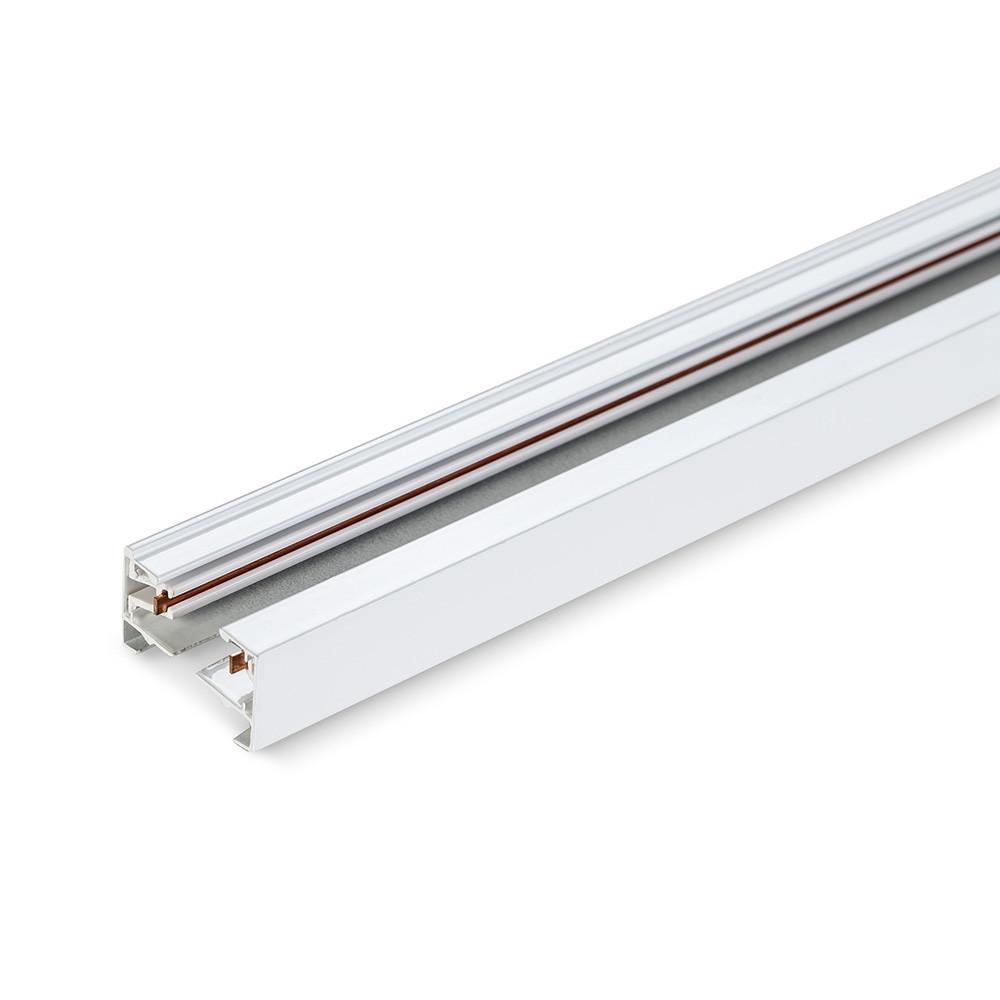 Шинопровод для крепления и питания трековых светильников VIDEX 2м белый VL-TRF002-W 25921