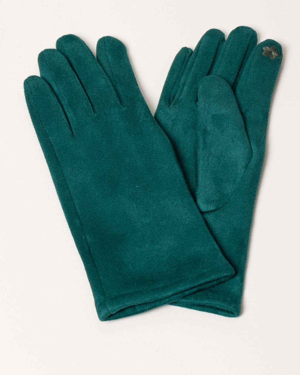 Перчатки женские MM SWEET G1467 DARK GREEN