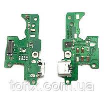Шлейф - плата зарядки для Nokia 3.1 (TA-1063, TA-1057), коннектора зарядки с микрофоном, оригинал