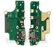 Шлейф - плата зарядки для Nokia 5 (TA-1024, TA-1027, TA-1044, TA-1053), коннектора зарядки, оригинал