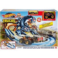 Трек Хот Вилс Жало Скорпиона Hot Wheels Monster Truck Scorpion Sting Raceway Mattel GNB05