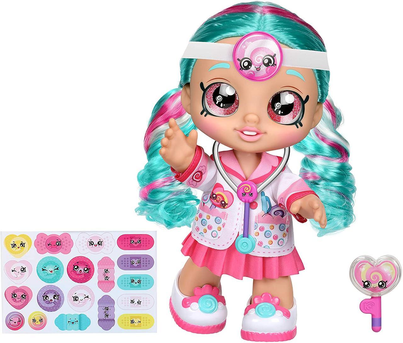 Kindi Kids Кукла Кинди Кидс доктор Синди Попс Kindi Kids Dr Cindy Pops Doll