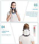 Медицинский надувной шейный тяговый воротник для снятия боли в шее, фото 3