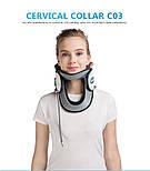 Медицинский надувной шейный тяговый воротник для снятия боли в шее, фото 4