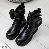Ботинки зимние женские А12078, фото 5