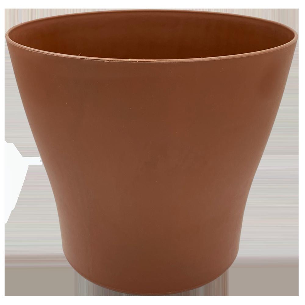 Горшок для цветов Gardenya 8,3 л коричневый