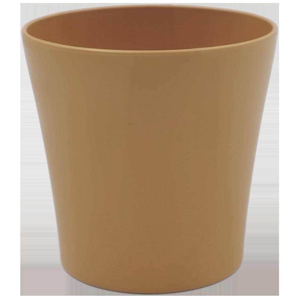 Горшок для цветов Gardenya 1,7 л коричневый