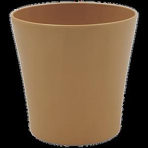 Горшок для цветов Gardenya 1,7 л коричневый, фото 2