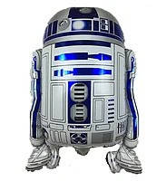 Куля фольга фігурки Робот R2D2 з зірок. воєн (Космос)