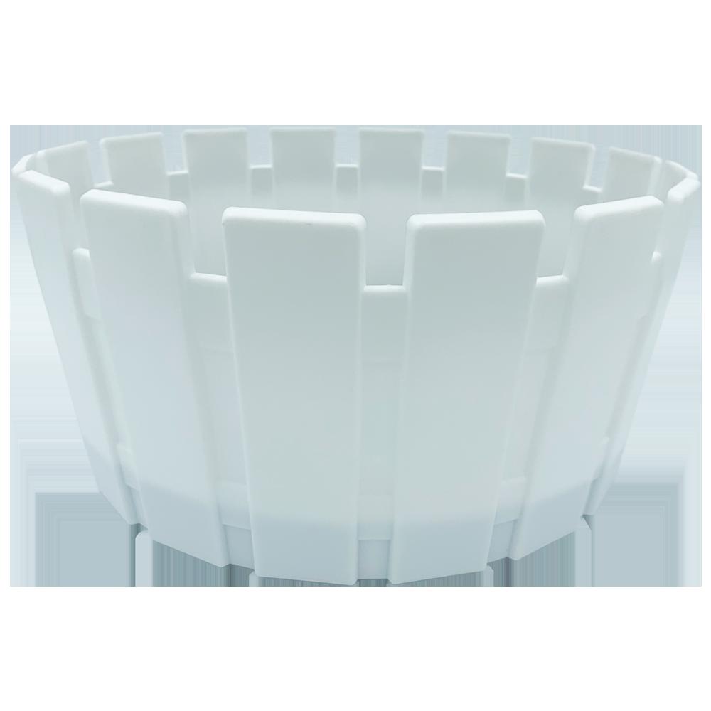 Горшок для цветов Akasya Arrangement 6 л белый