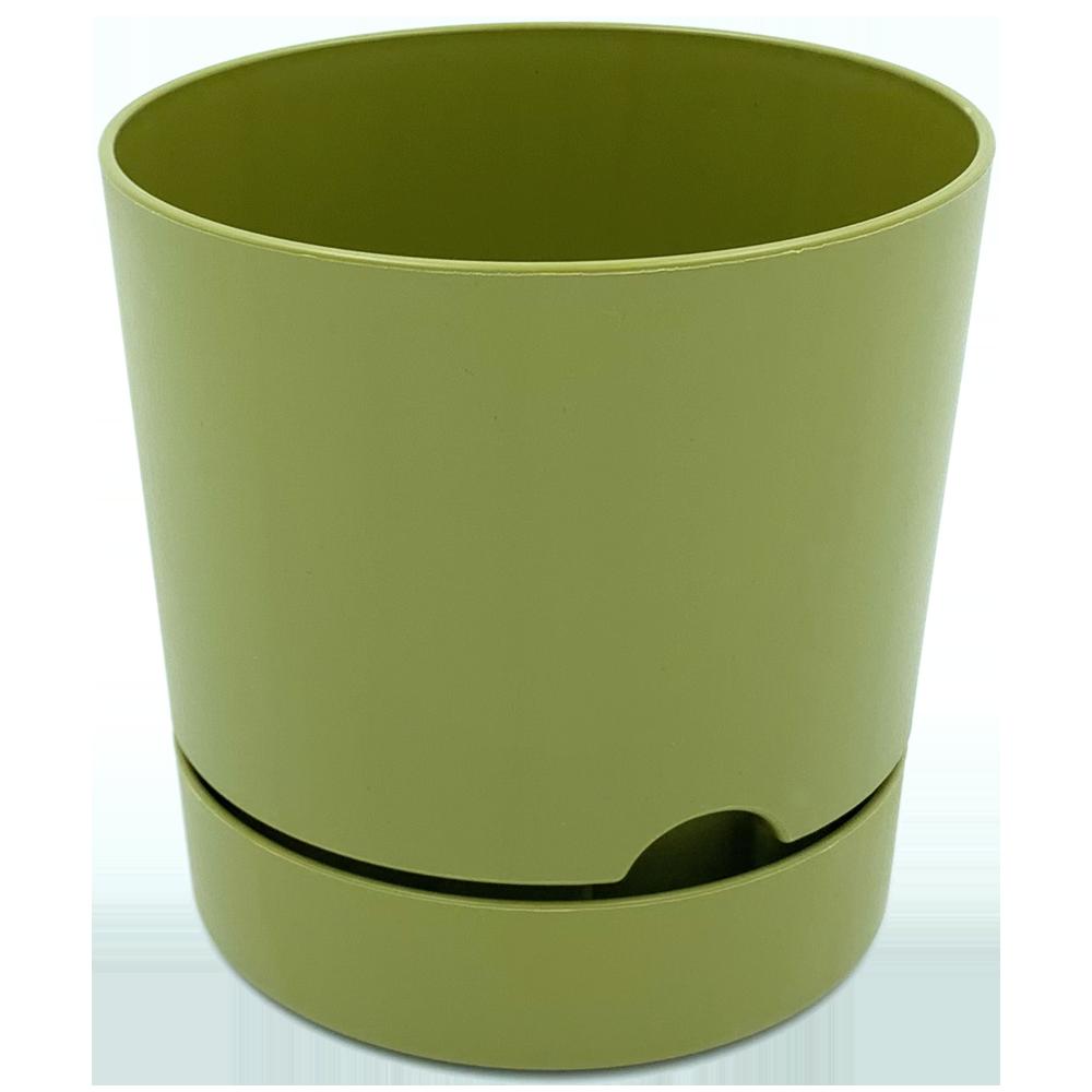 Горшок для цветов Begonya 1 л зеленый