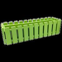 Горшок для цветов балконный Akasya 11 л зеленый
