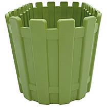 Горшок для цветов балконный Akasya 3 л зеленый, фото 3