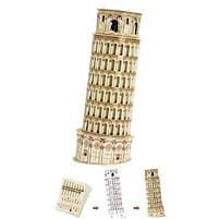 Трехмерная головоломка-конструктор серия мини cubicfun пизанская башня (S3008h), фото 3