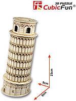 Трехмерная головоломка-конструктор серия мини cubicfun пизанская башня (S3008h), фото 2