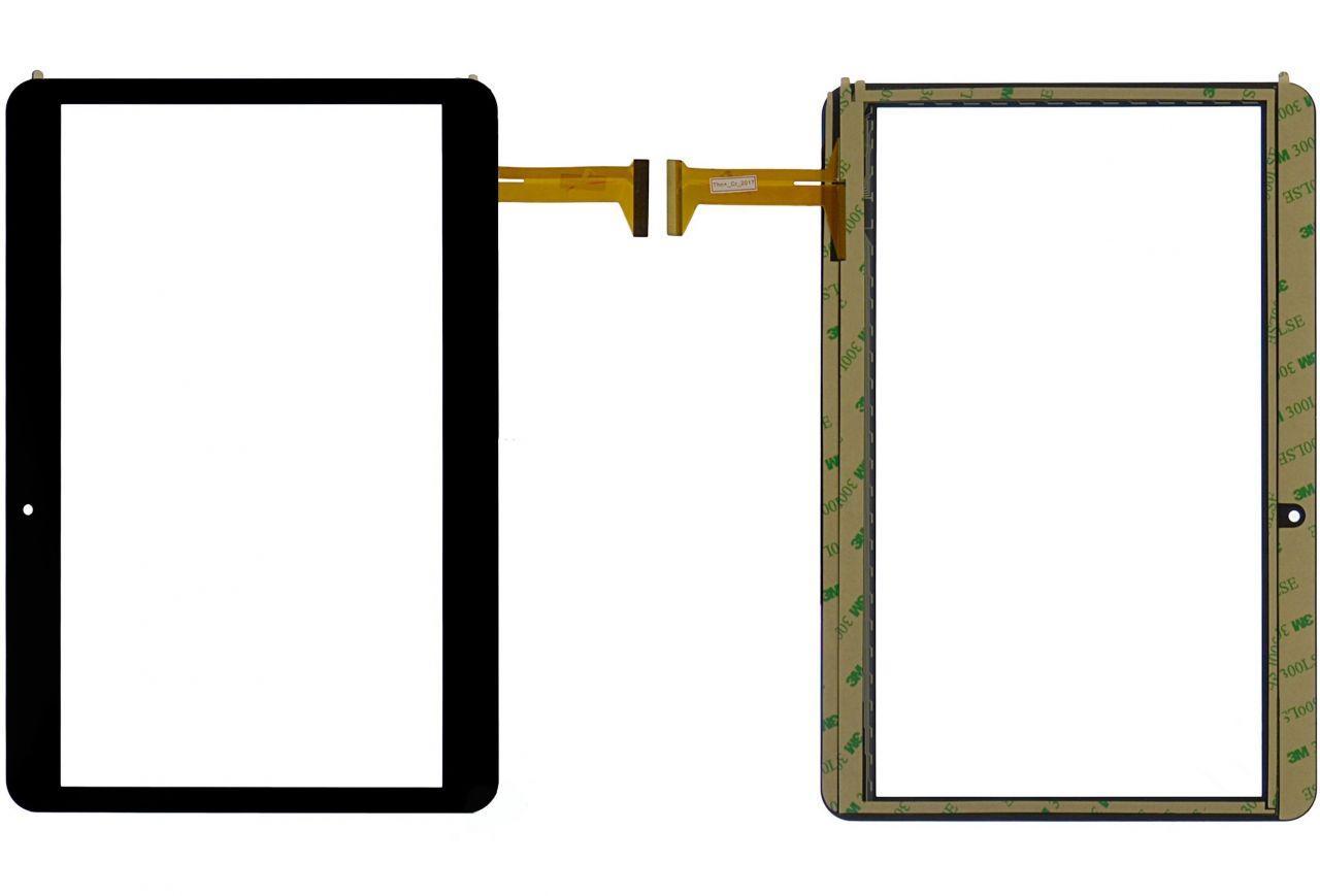 Сенсор (тачскрін) GoClever Quantum 1010 Mobile (TQ1010MO) (239x162, 50pin, #FX-205-V1, MF-762-101F-3, DH-1071A1-PG-FPC232) Black
