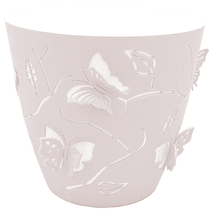 Горшок для цветов 3D 0,7 л розовый, фото 2