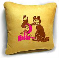 """Детская подушка № 08 """"Маша и Медведь"""", фото 1"""