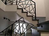 """Перила для лестницы в стиле """"Лофт"""", фото 4"""