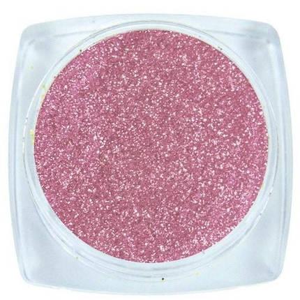 Komilfo блесточки 046 размер 0,08 мм, темно-розовые, 2,5 г, фото 2