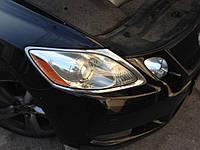НАШИ РАБОТЫ: Восстановительная полировка фар Lexus GS350