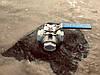 """Кран нержавіючий кульовий трьохходовий з майданчиком під привід """"L""""-подібний 1/2"""" Genebre"""
