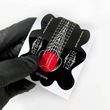 Формы Komilfo multi shape nail 100 шт, фото 2