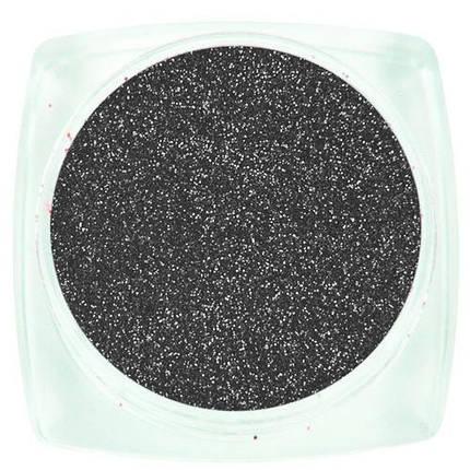 Komilfo блесточки 066 размер 0,1 мм, серые, 2,5 г, фото 2