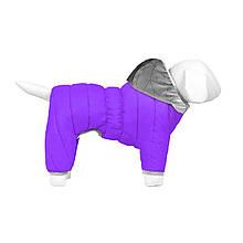 Комбінезон Airy Vest One M35 утеплений фіолетовий Collar для собак