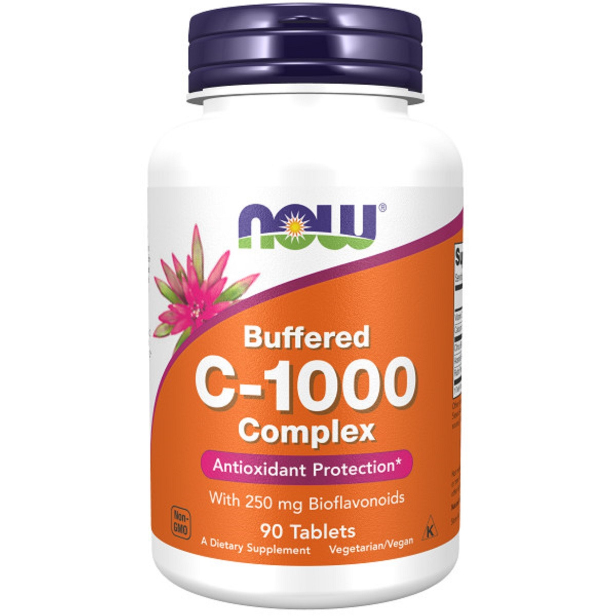 Комплекс Витамина C-1000, с 250 мг биофлавоноидов, Complex C-1000 With 250 mg of Bioflavonoids, Now Foods, 90