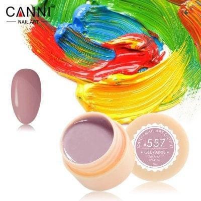 Гель-краска Canni 557 какао., фото 2