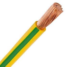 Провід ПВ 3  10 жовто-зелений