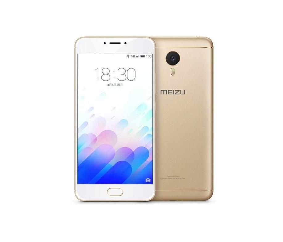 Смартфон Meizu M3 Note 16 Gb Gold Stock А