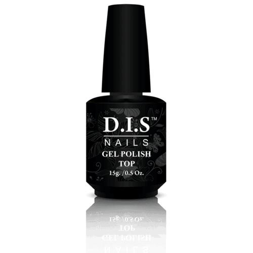 Верхнее покрытие для гель-лака DIS nails gel polish top с липким слоем 15 г