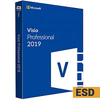 Visio/Project Pro 2019/2016, переносная ESD, бессрочная