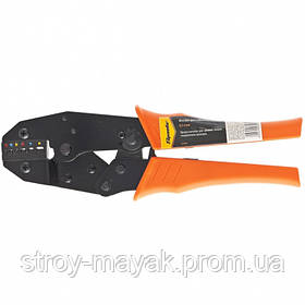 Клещи для обжима электрокабеля, 0.5-6 мм, SPARTA