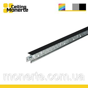 Профиль потолочный Т24 600 черный  Армстронг MONERTE