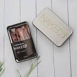 Кисті для макіяжу Naked3 12 шт, фото 3