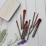 Кисті для макіяжу Naked3 12 шт, фото 4
